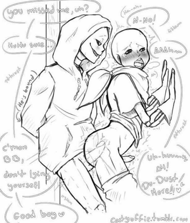 underswap and sans sans underfell Moxxi and lilith make out