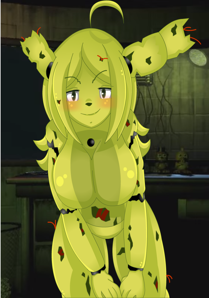 nights at springtrap five anime Harold from total drama island