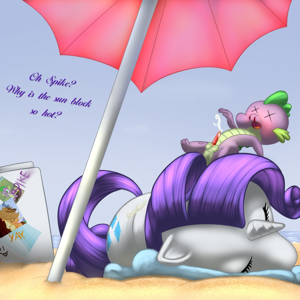 little my pony is spike rarity magic friendship and The incredible world of chichi