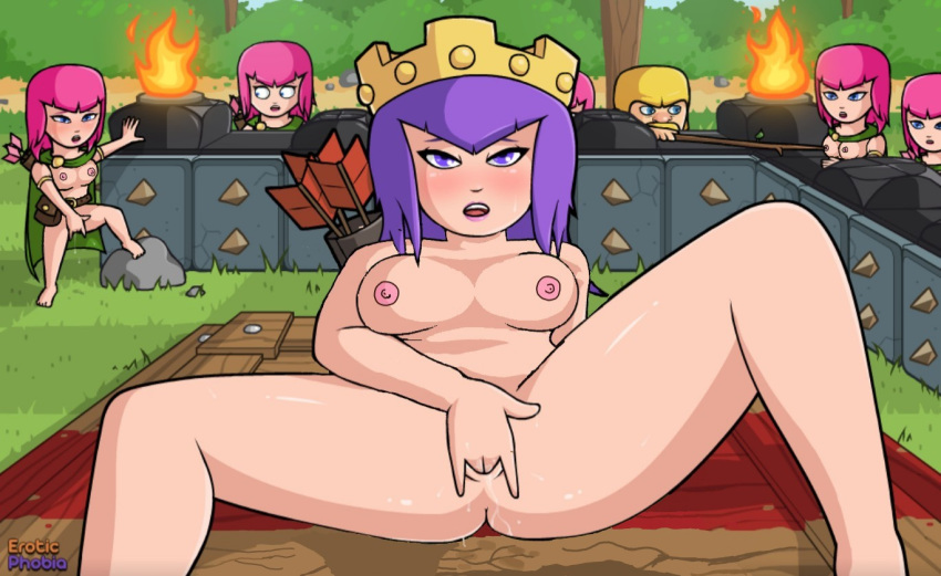 comics of porn clash clans Sonic and amy and tails